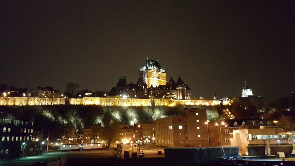 Good night from Québec