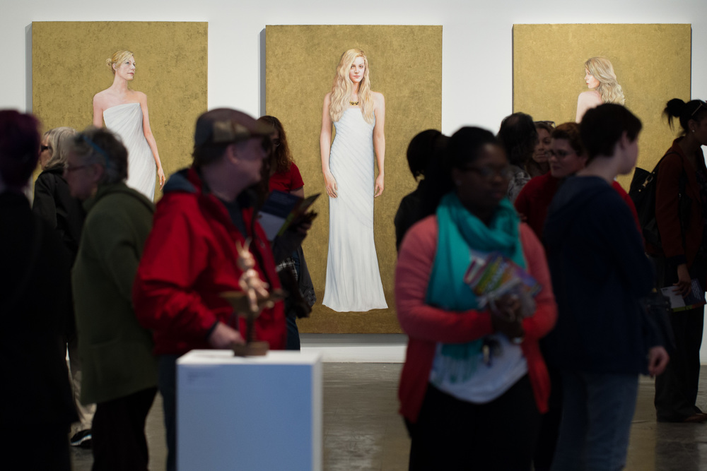 Opening reception for Mean Girls at Space Gallery