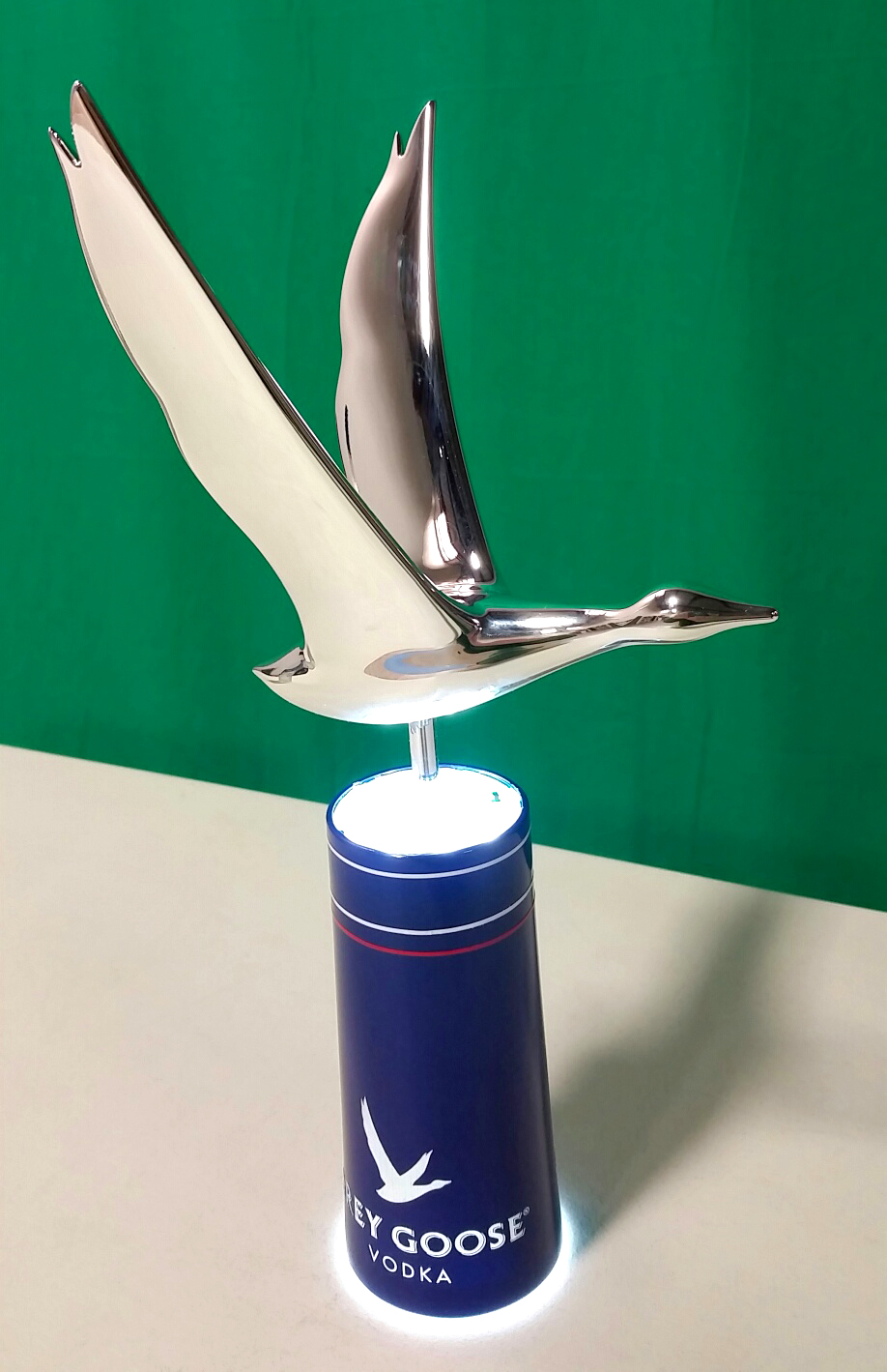 Production Sample of Grey Goose Glorifier