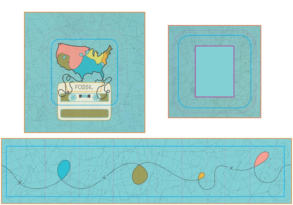Design layout of tin