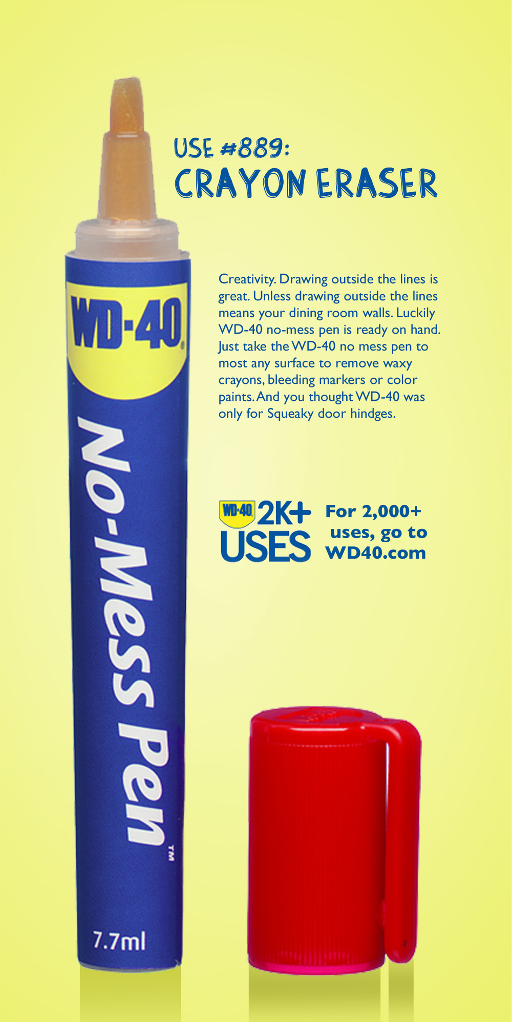 Client: WD-40   Target: Do-it-All Mothers   Medium: Print