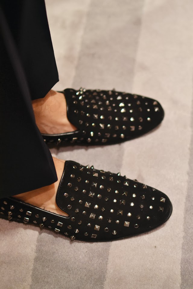 Aldo    studded slippers