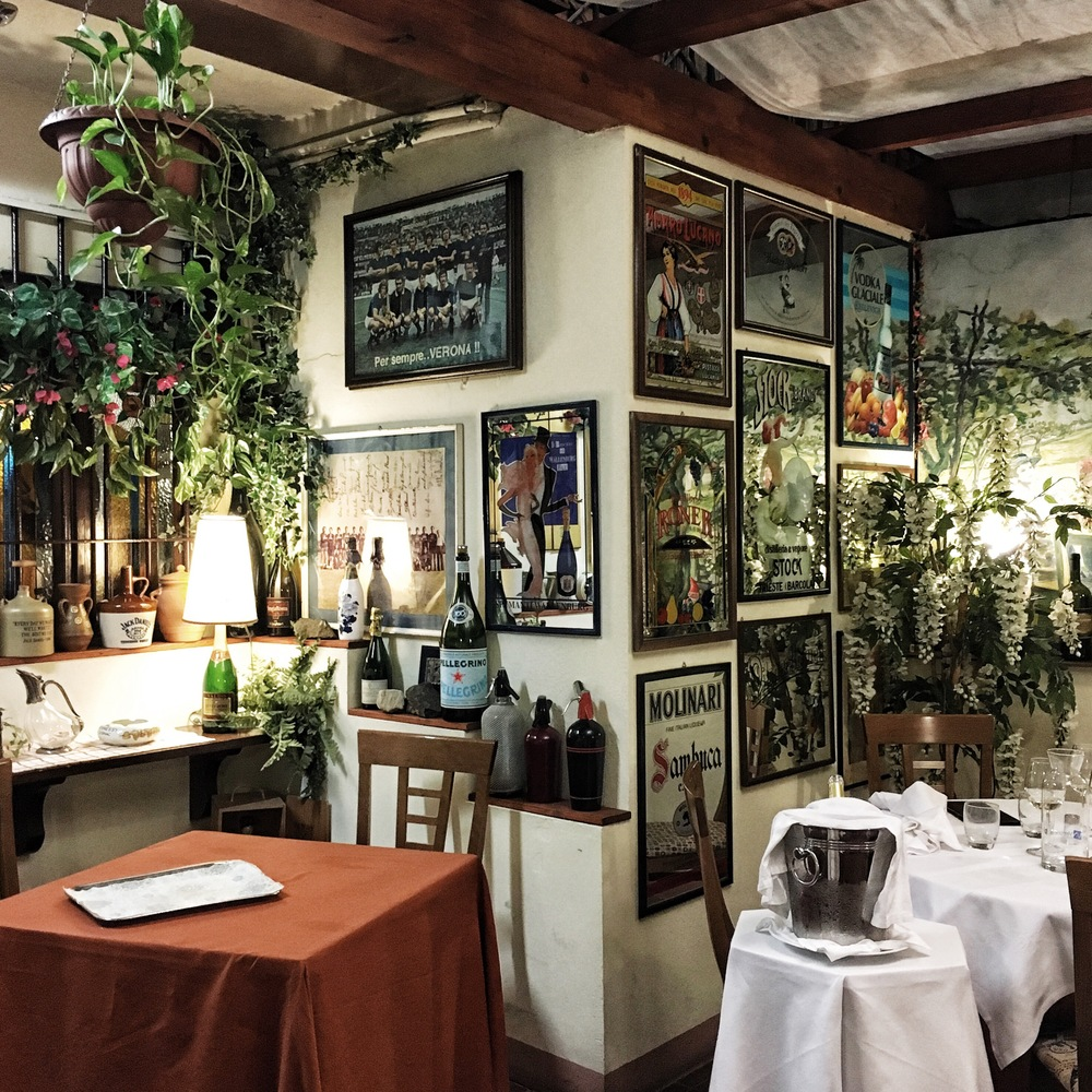 trattoria al bersagliere instagram verona restaurant ristorante