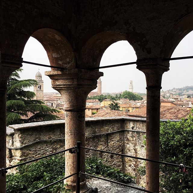 NEW POST: Food, views and outfits from Sandro's trip to #Verona, now on www.cloudedrevolution.com #travelgram #travelingram #travelphotography #travelling #instatravel #verona #italy #italia #holiday #giardinogiusti #fblogger #blog #vscocam