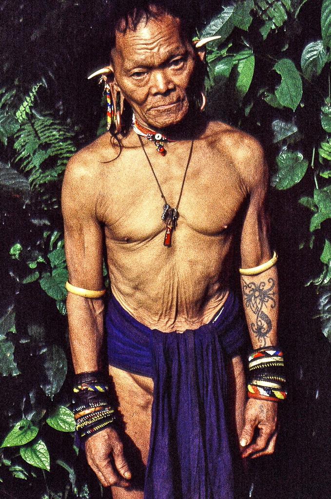 Old Nomadic Man