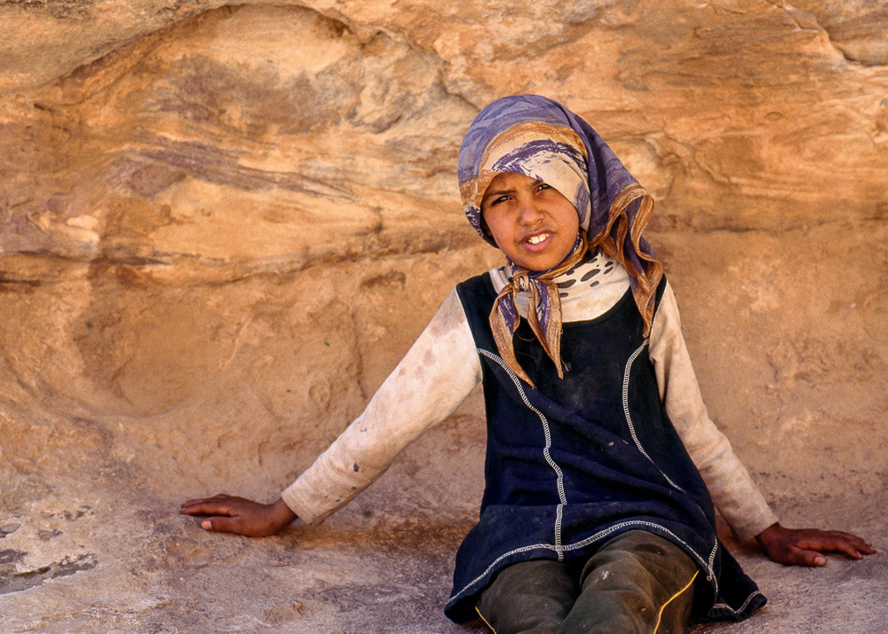 Bedouin Girl of Petra