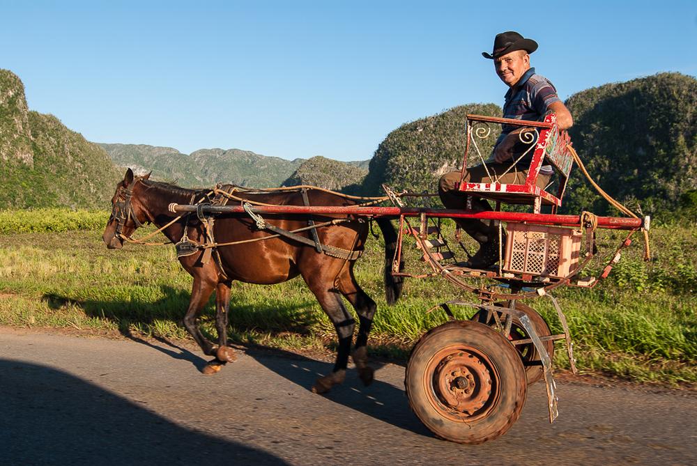Taxi in Rural Cuba