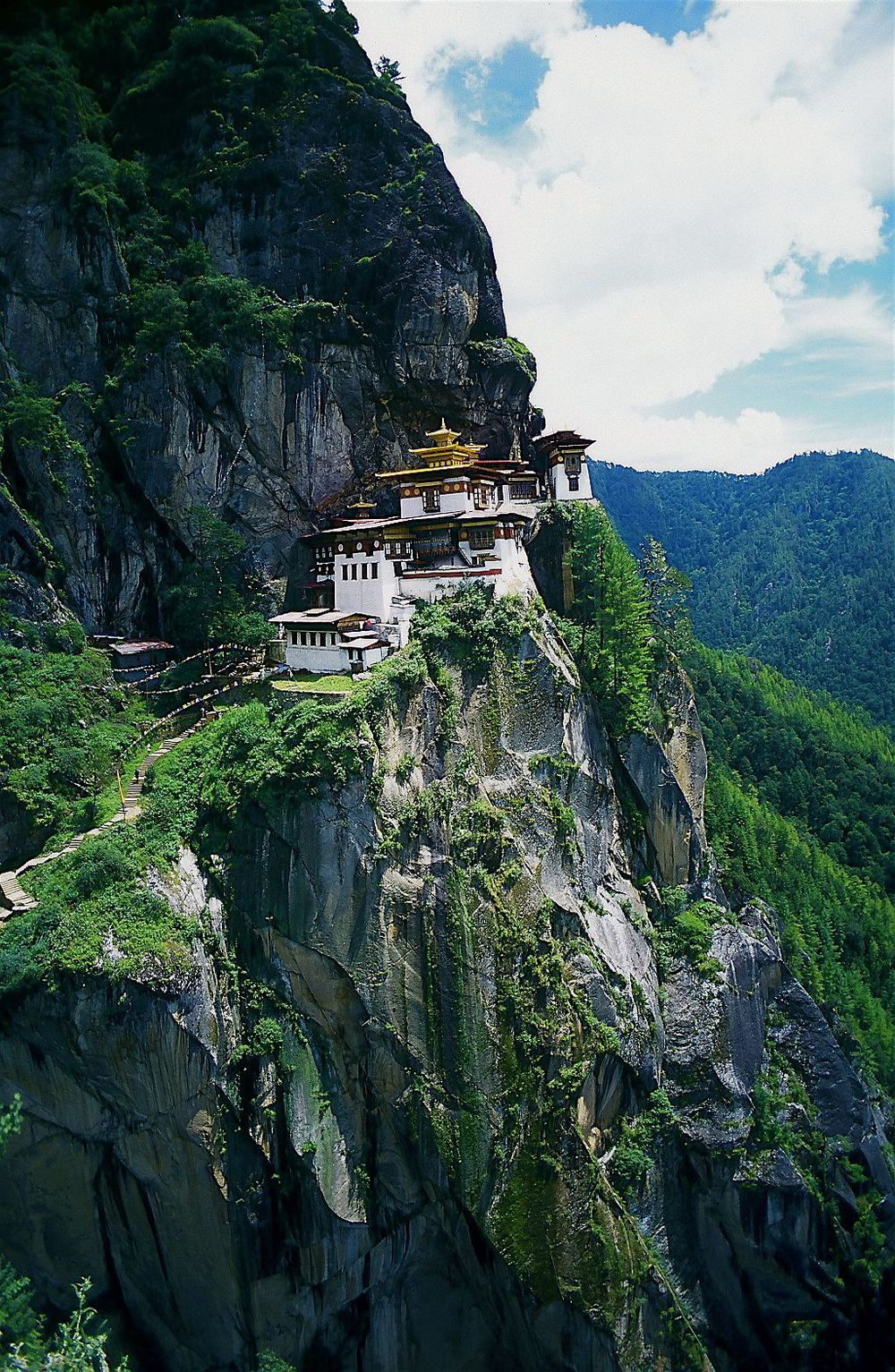 Taktsang Palphug Monastery (also known as Tiger's Nest)