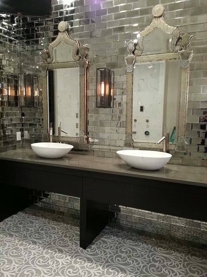 Posh Bathroom Lisa Gilmore Design Interior Design