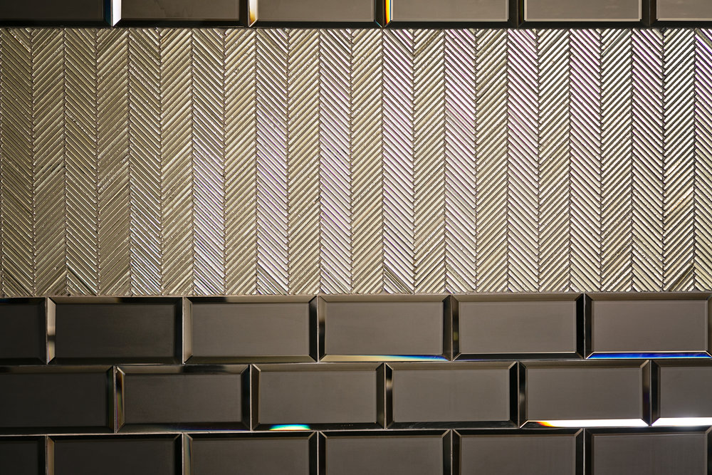 glam tile detail_ custom home theater