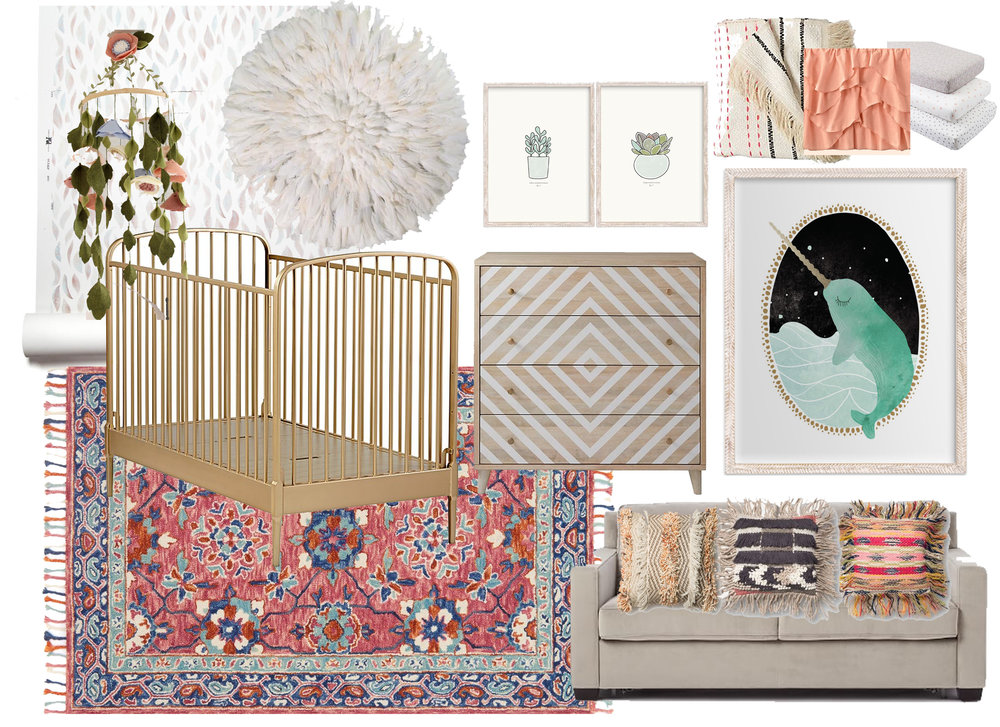Option 1- Whimsical Bohemian Vibes