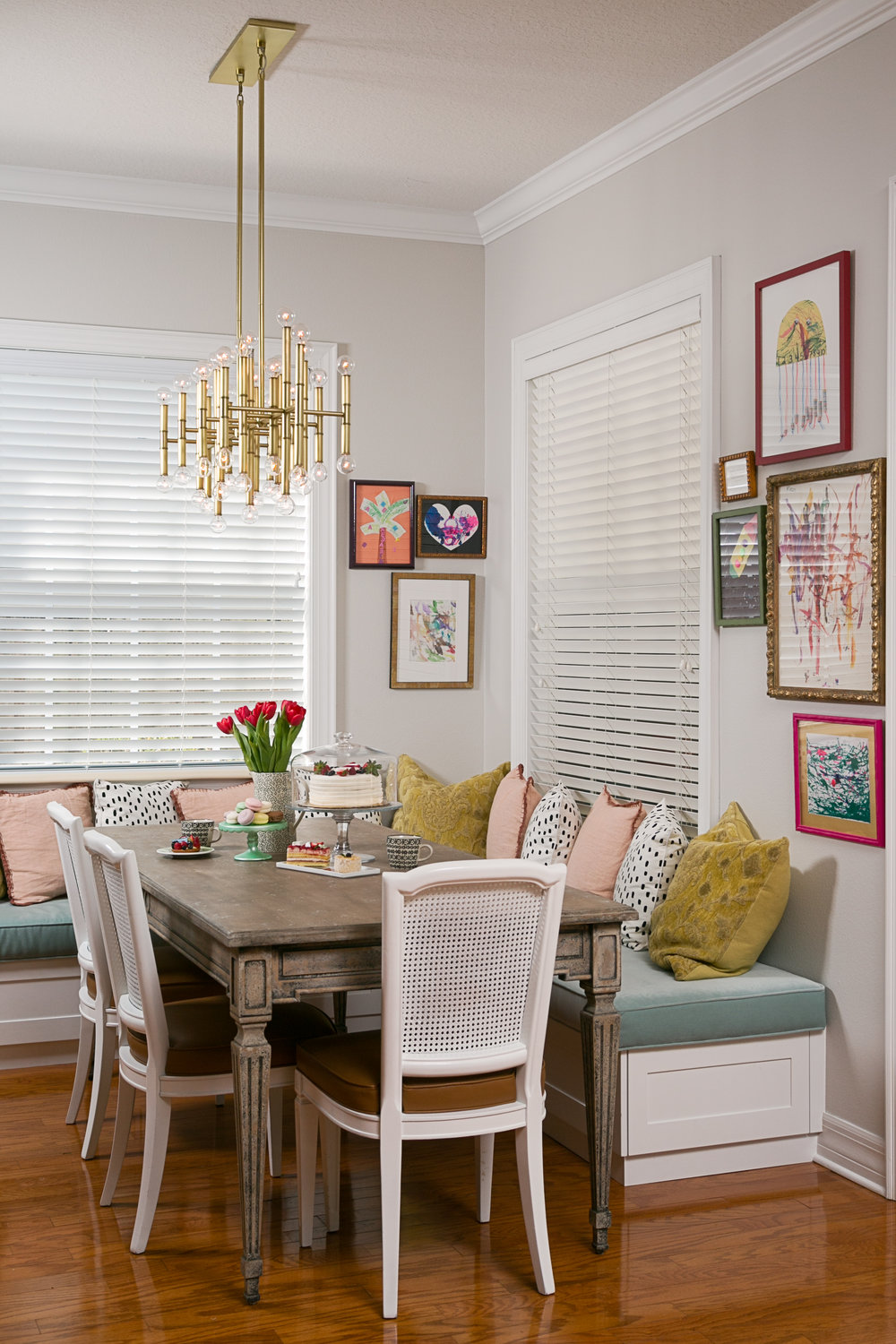 Lisa Gilmore Design Bold, Vibrant, Chic Project