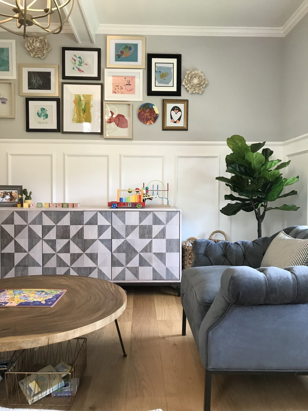 Lisa Gilmore Design New England Family Home Project