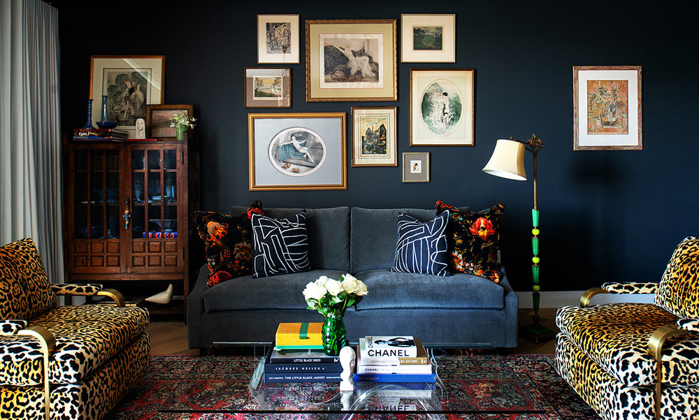 RUE MAGAZINE - A MODERN CONDO FILLED WITH ART & ANTIQUES