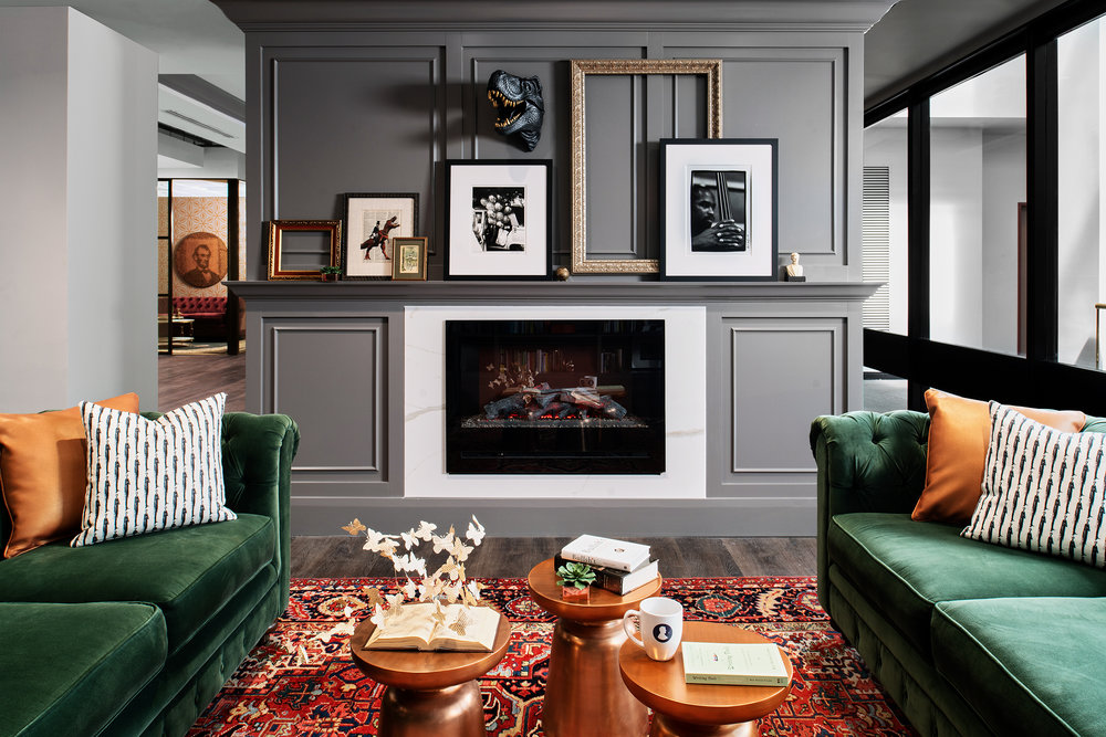 ON THE BLOG - Green Inspiration, Charleston Space, Dark Walls & much more.