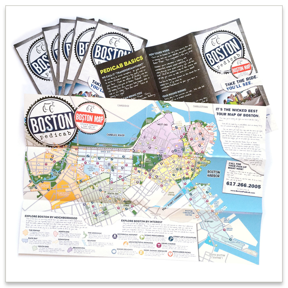 Tourist Map Brochure — Scorpio Creative