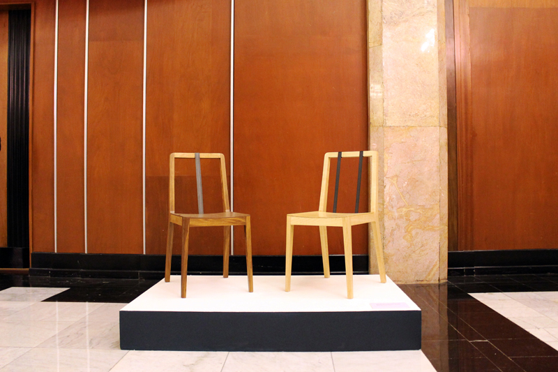 11 nov 2011   The Tie chair was awarded and exhibited by the National Institute of Fine Arts in the Sixth Mexican Design Biennial.