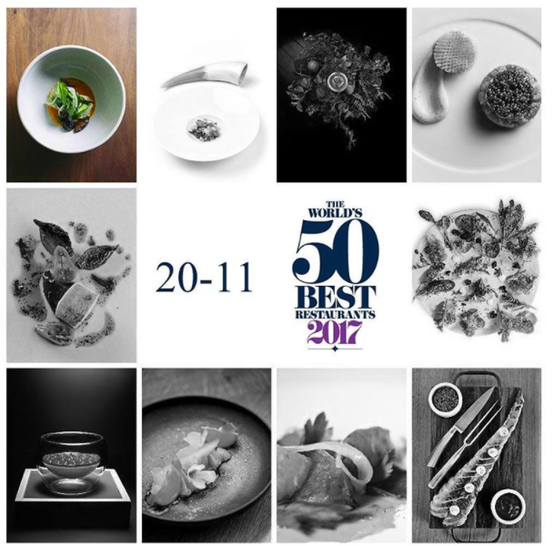 April 2017 Congrats to Pujol Restaurant for being the 20th Best World Restaurant. The image top left is from the plate we design for them.