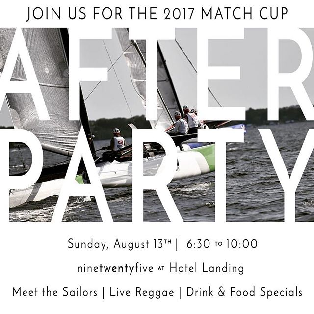 Join us for a @wayzata_match_cup #afterparty @ninetwentyfivewayzata this SUNDAY at 6:30 and make sure to check out all of the incredible race events taking place this weekend! #Wayzata #whyzata #matchcup #localhappenings