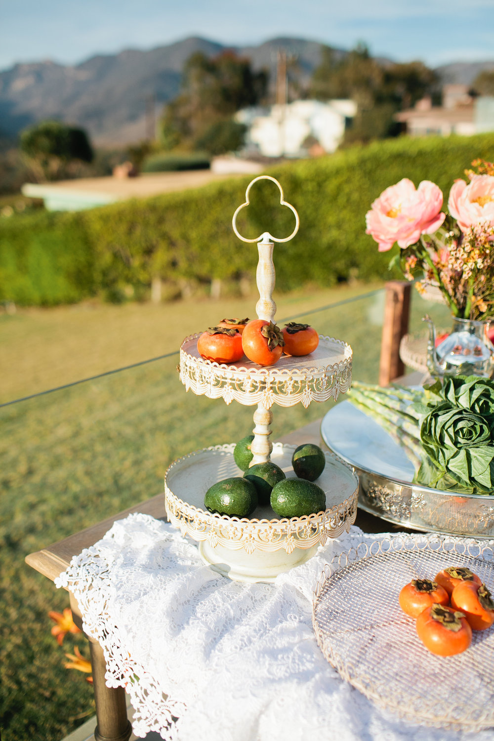 LACEY TIERED SERVING TRAY