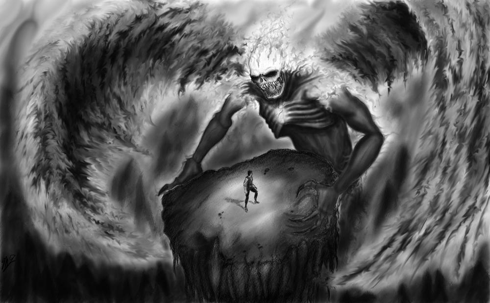 """Facing Fear"" courtesy of MattyTuck @ Deviant Art - http://mattytuck.deviantart.com/art/Facing-Fear-185505771"
