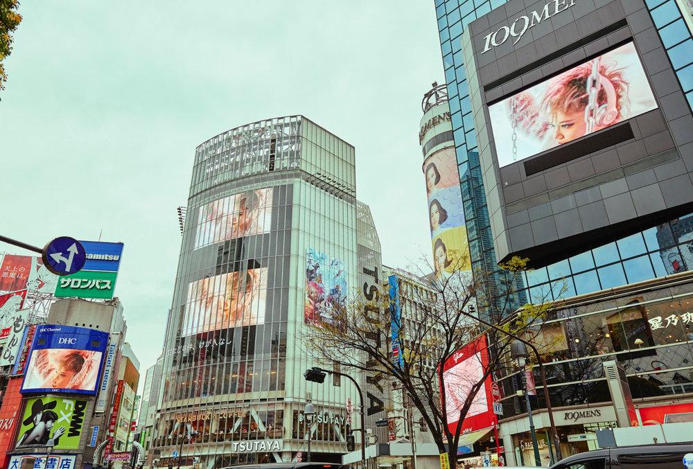 Shibuya Crossing, Tokyo - Japan
