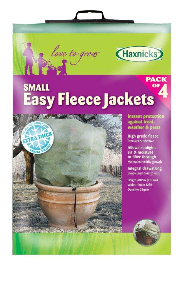 Small Easy Fleece Jacket (4 pack)