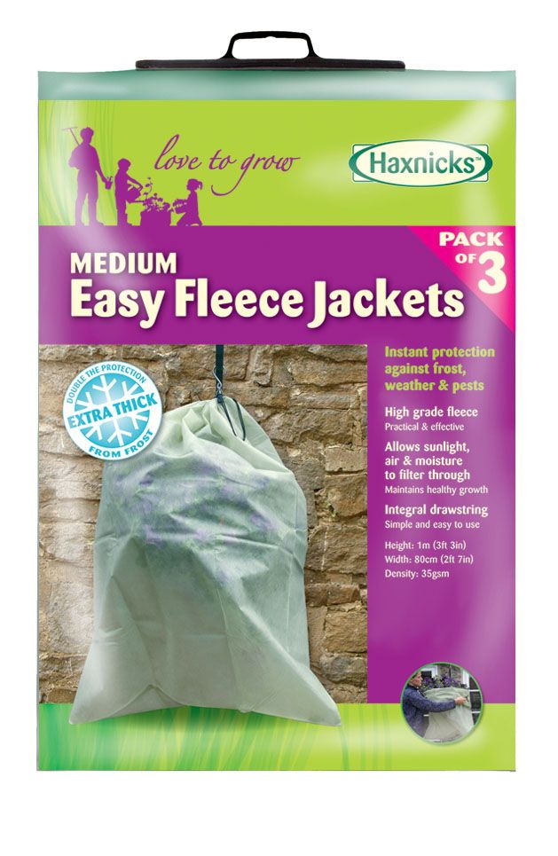 Medium Easy Fleece Jacket (3 pack)