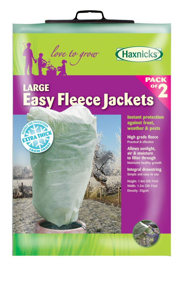 Large Easy Fleece Jacket (2 pack)