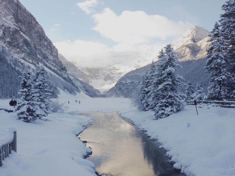Lake Louise, Alberta courtesy Scott Bakken