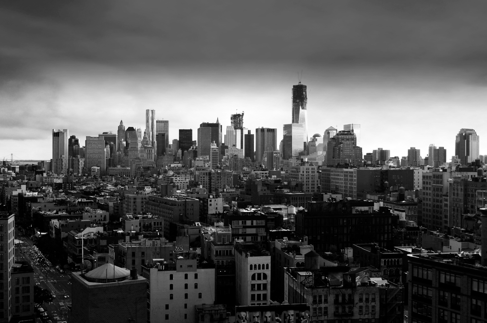 New York City Skyline from Cooper Hotel Rooftop