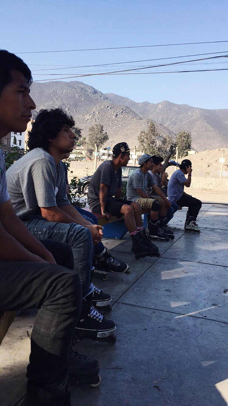 My peruvian blader homies.