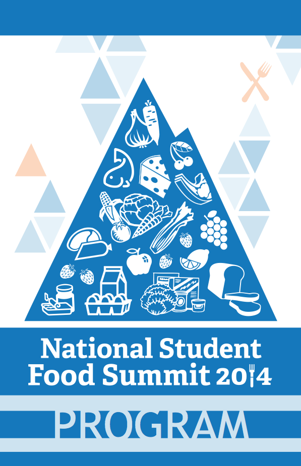 National Student Food Summit Program Cover