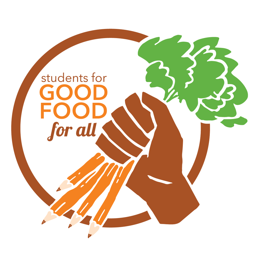 Students for Good Food for All Logo