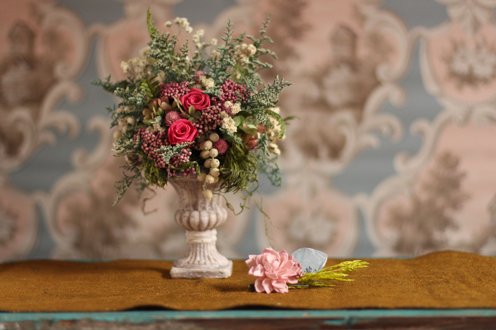 Spring Arrangement and Boutonniere.jpg