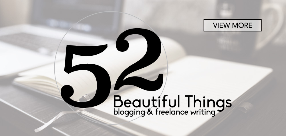 52 Beautiful Things_Brand Development & Web Design