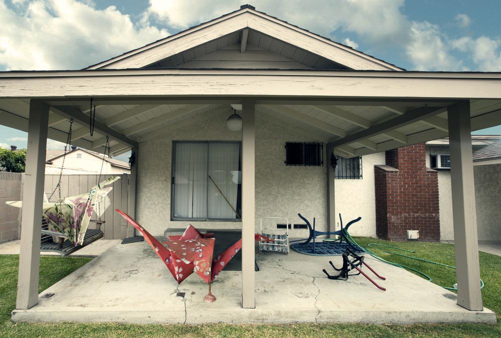 Suburban Backyard (2011)