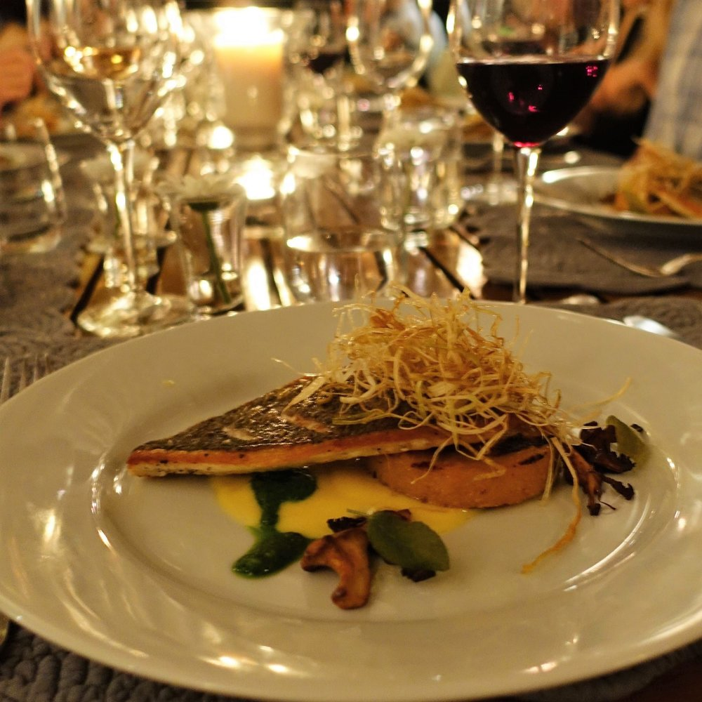LUX Chef's table dinner