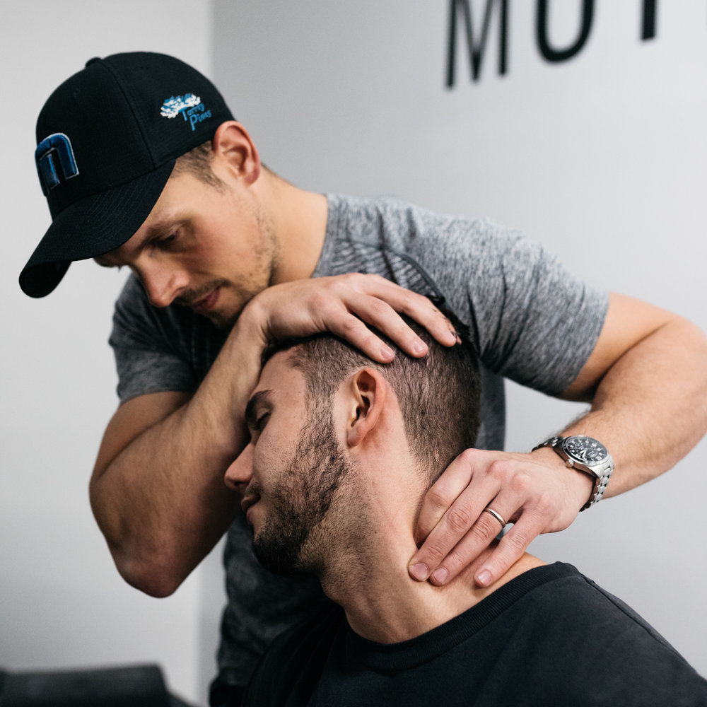 Luke Greenberg of  MotivNY : Doctor of Physical Therapy, Functional Range Release, Functional Range Conditioning, Certified Strength and Conditioning Specialist, SFG Kettlebell 1-day.