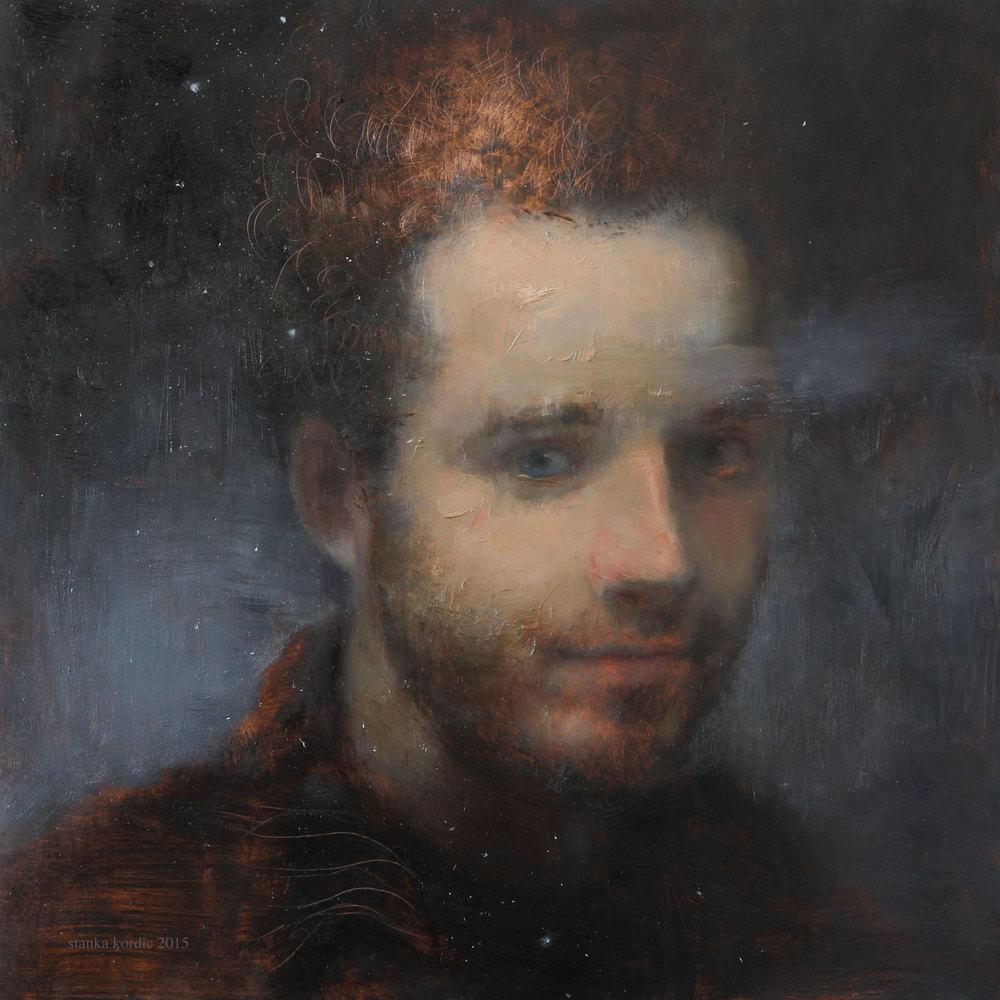 Portrait of John with Stars