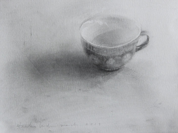 One Cup. graphite