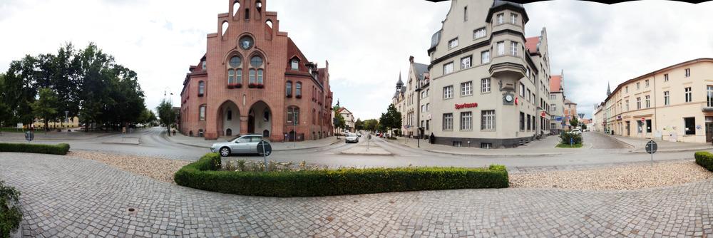 Das Rathaus in Nauen