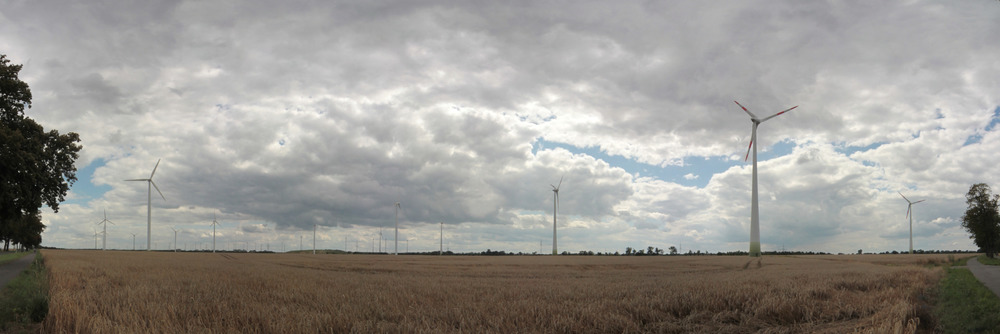 Windpark bei Nauen