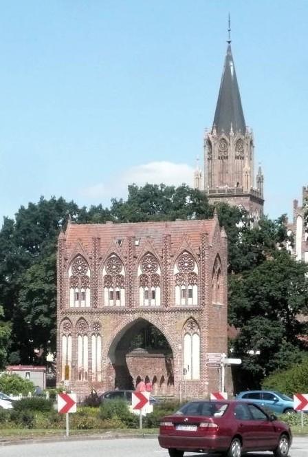 das Stadttor von Neubrandenburg