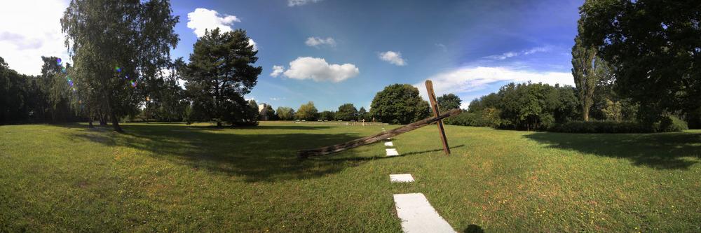 Die Gedenkstätte Dreieichen