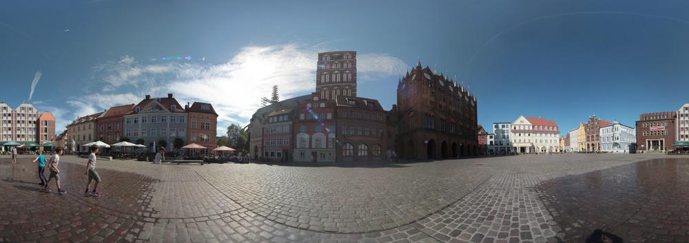 Stralsund, Alter Markt und St. Nikolai
