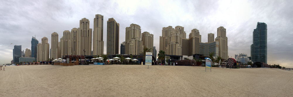 Matina Beach an der Dubai Medina