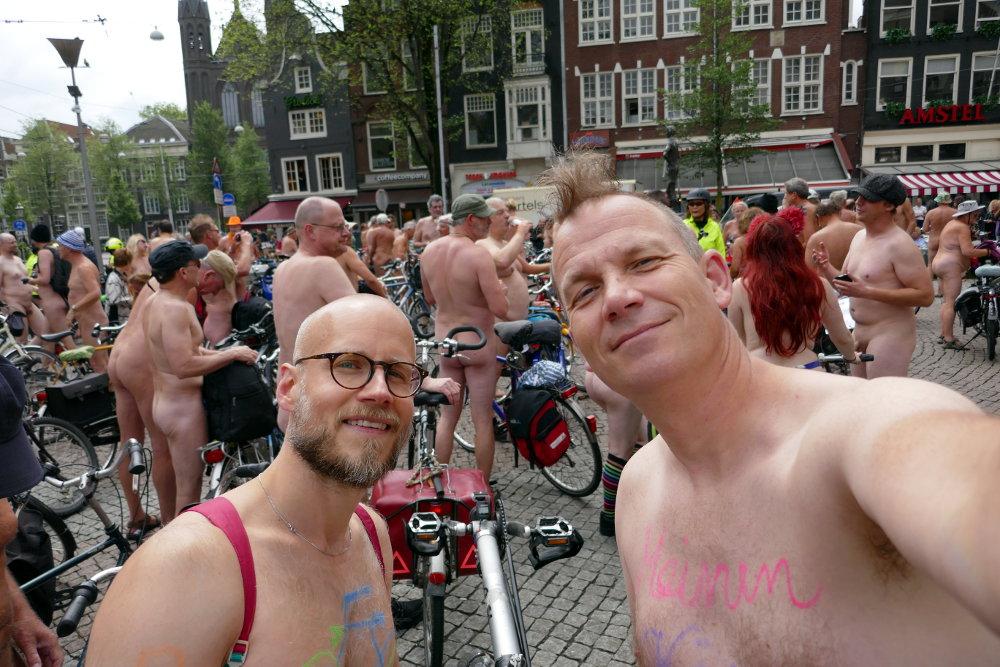 Marcel und Hendrik, die Vorreiter der Nudistenbewegung 2017
