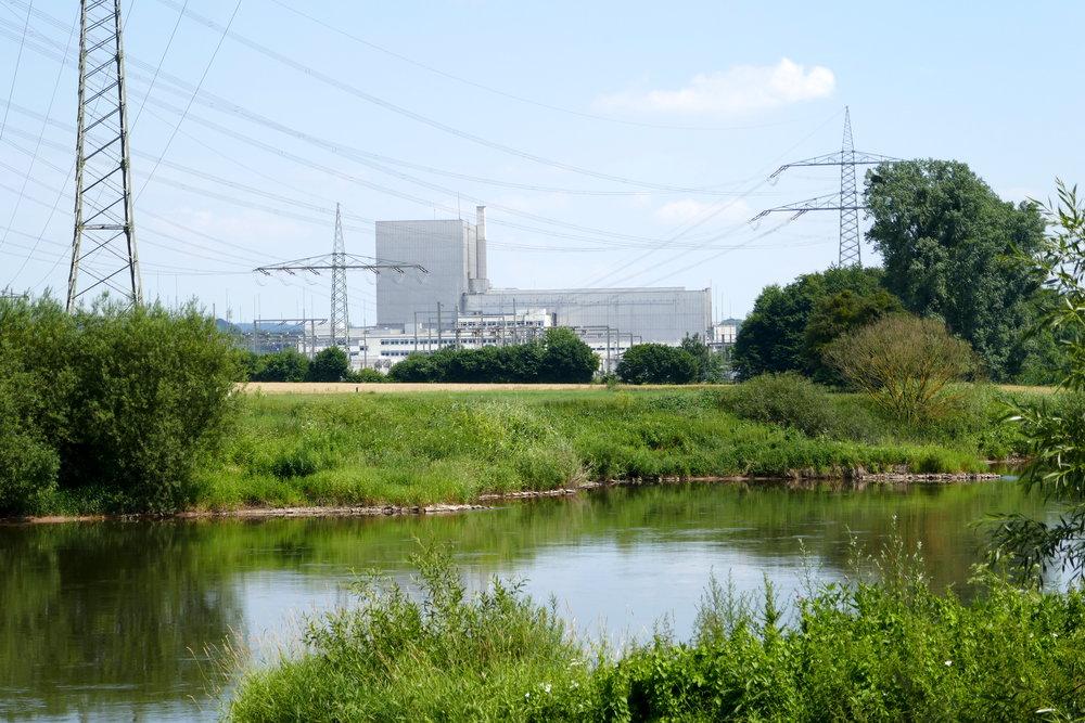 Sas Süsse, kleine Atomkraftwerk bei Bad Karlshafen