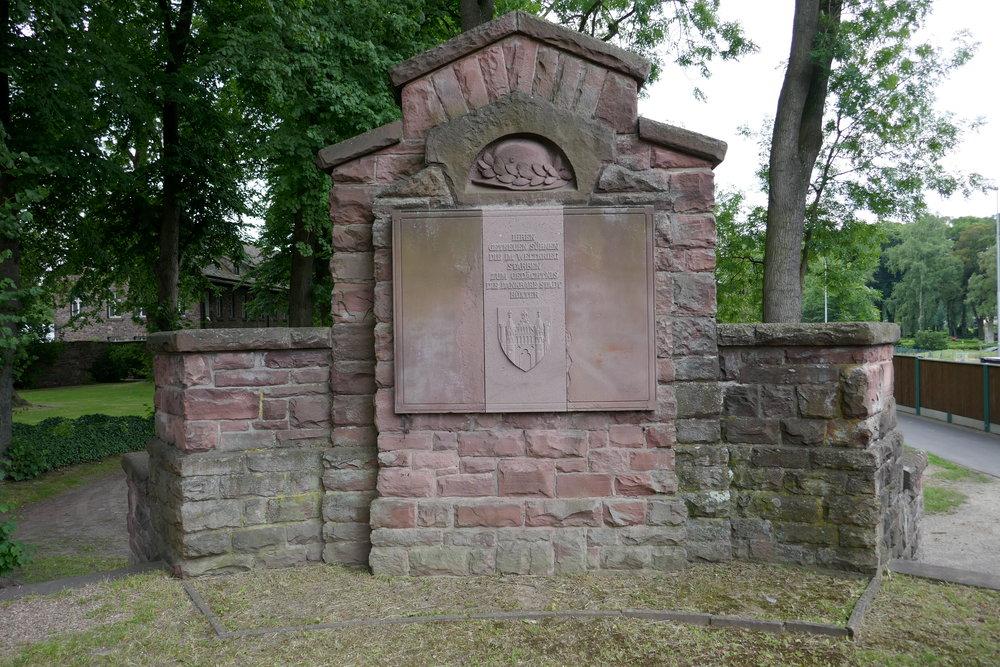Weltkriegsdenkmal in Höxter